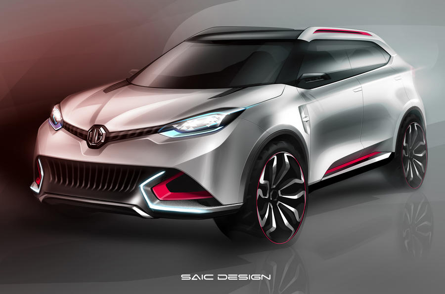 MG CS SUV concept poised for Shanghai reveal