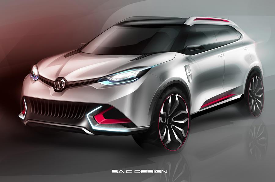 MG CS SUV concept poised for Shanghai reveal