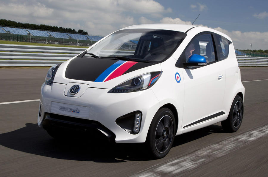 MG EV concept UK first drive