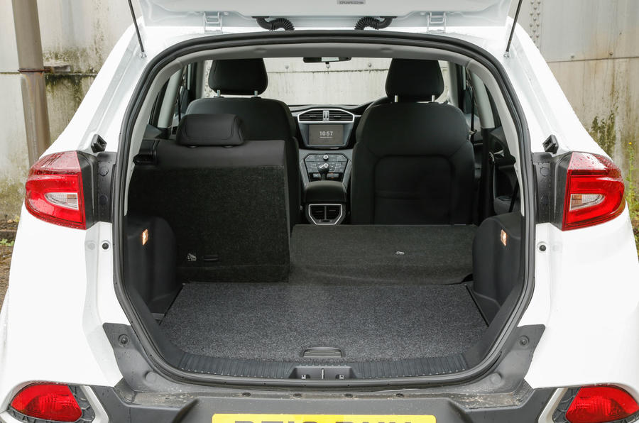 MG GS boot space