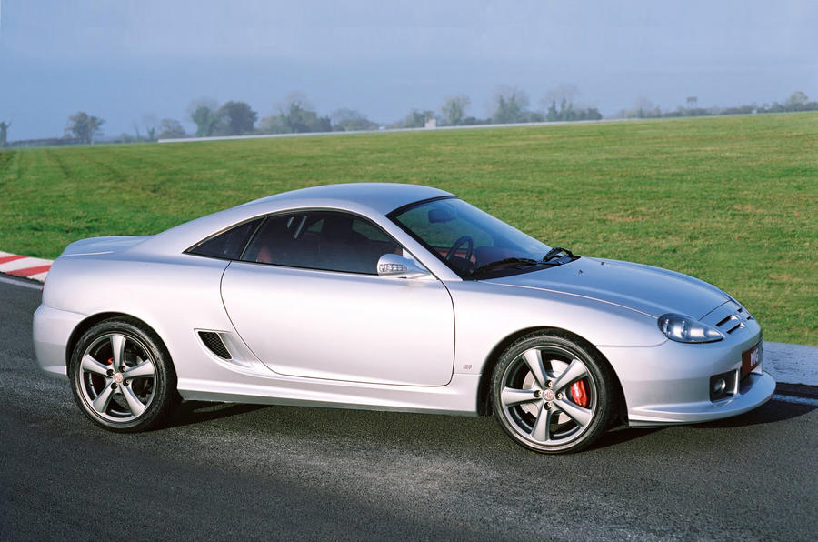 """MG coupe """"in development"""""""