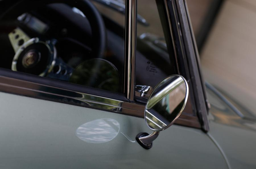 MG LE50 wing mirror