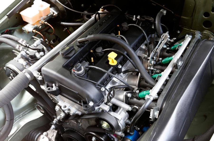 MG LE50 four-cylinder engine