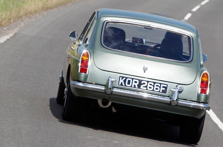 MG LE50 rear
