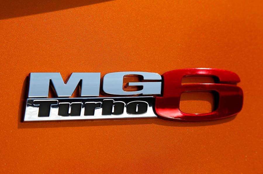 MG6 badging