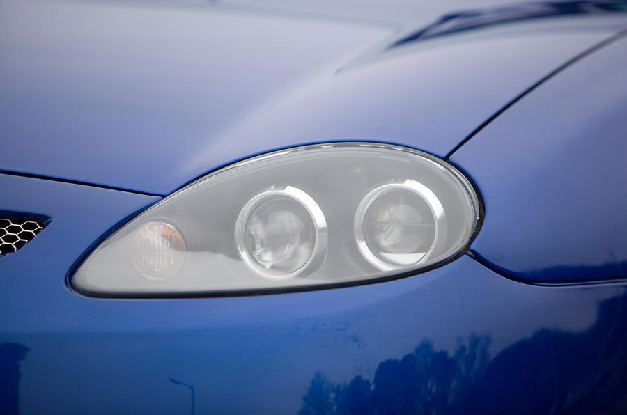 MG TF headlight