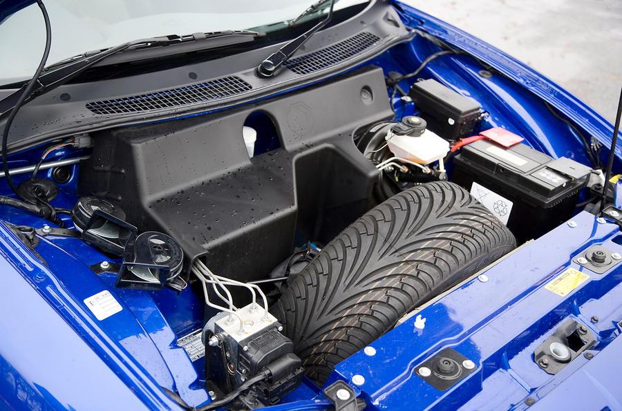 MG TF 1.8-litre petrol engine