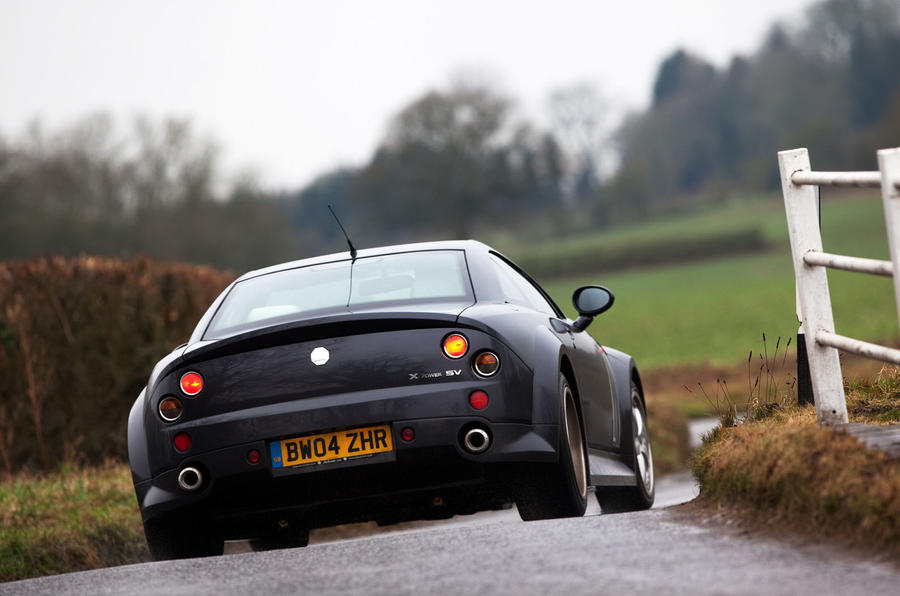 MG X-Power SV driven | Autocar