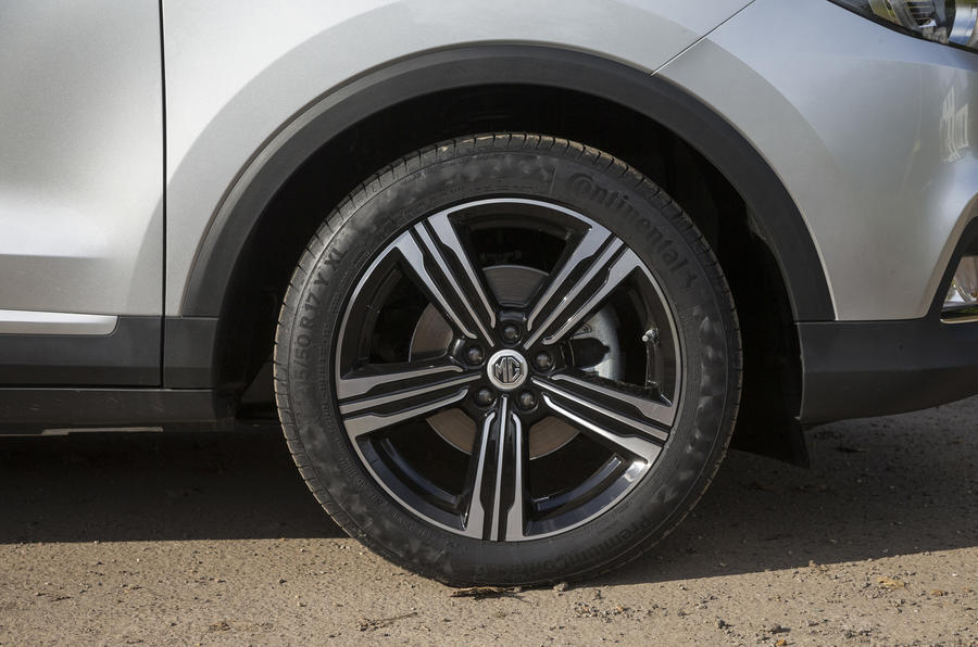 MG ZS alloy wheels