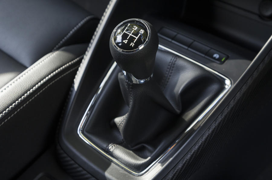 MG ZS manual gearbox