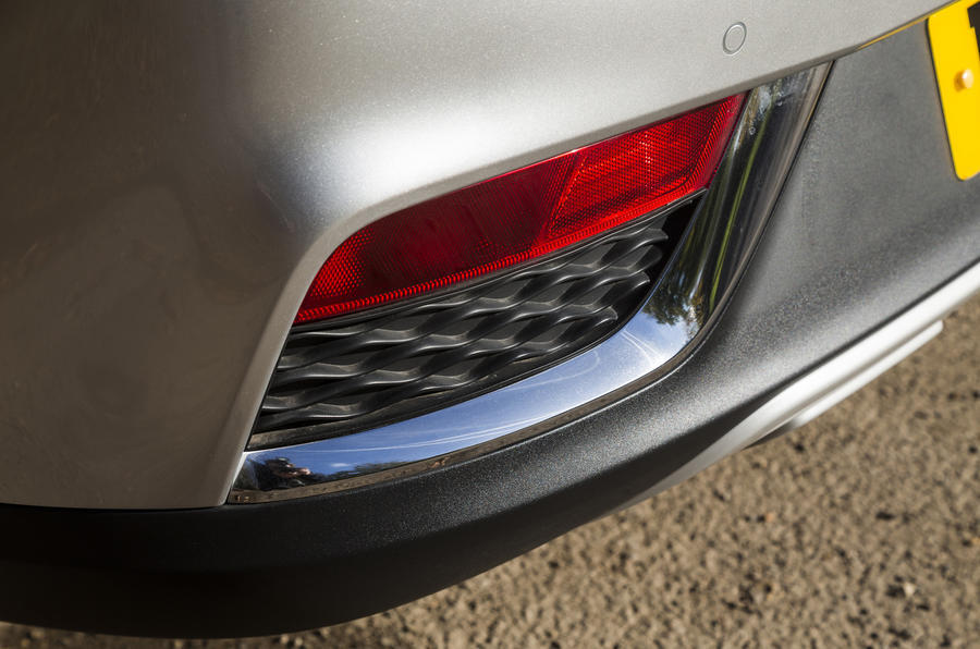 MG ZS rear foglight