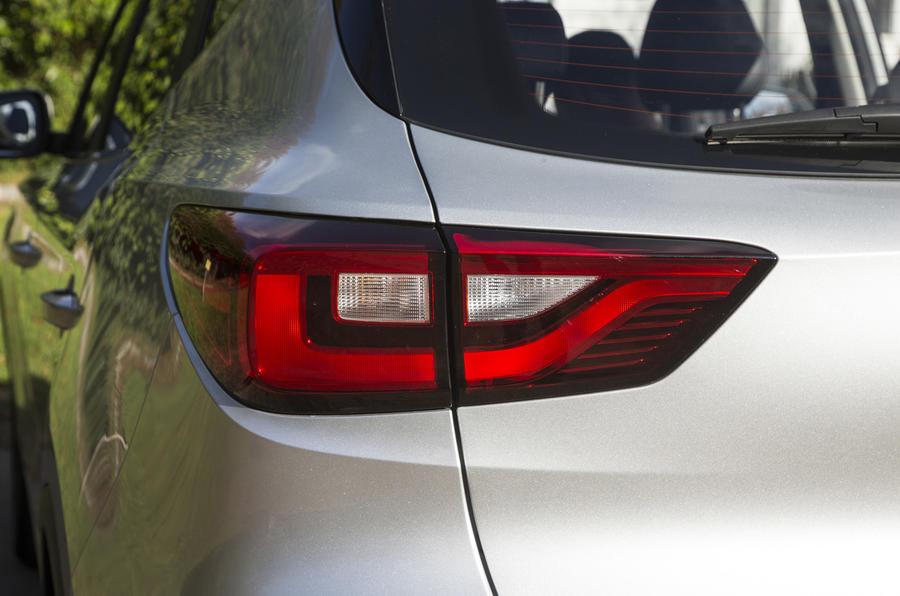 MG ZS rear light