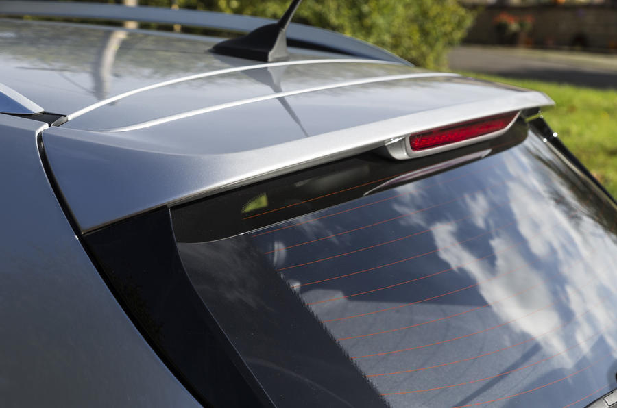 MG ZS rear spoiler