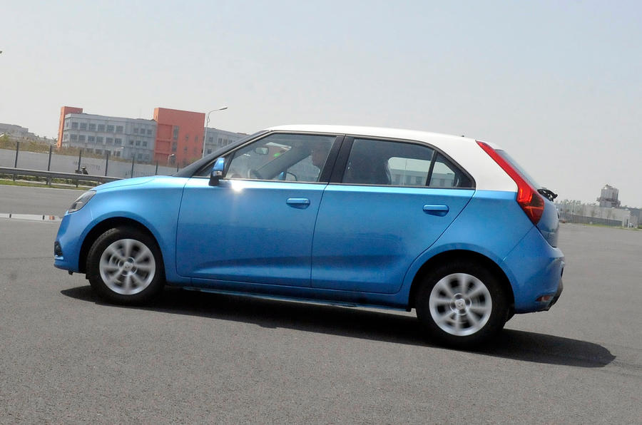 MG 3 side profile