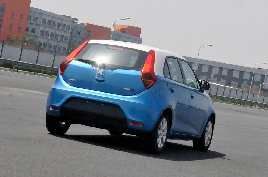 MG 3 first drive review
