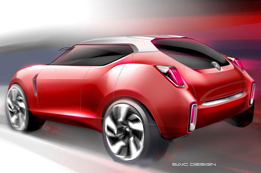Beijing Motor Show 2012 Mg Icon Suv Concept Autocar
