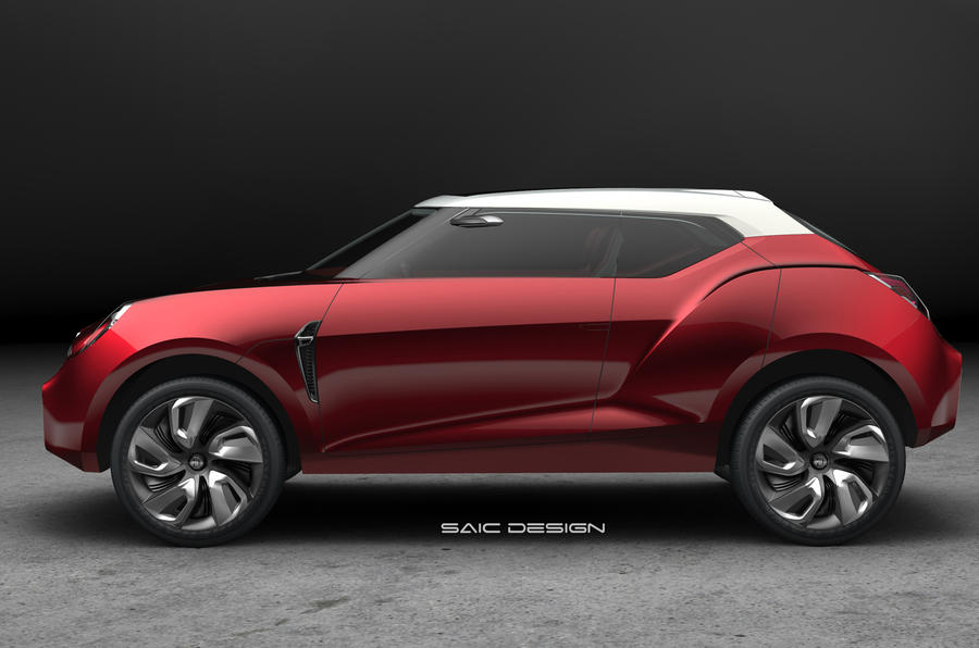 Beijing show: MG Icon concept