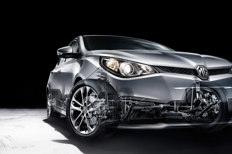MG5 official pictures revealed