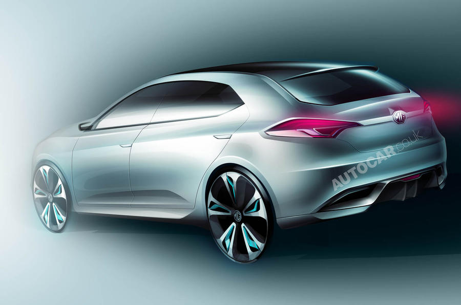 Shanghai motor show: MG 5 hatch