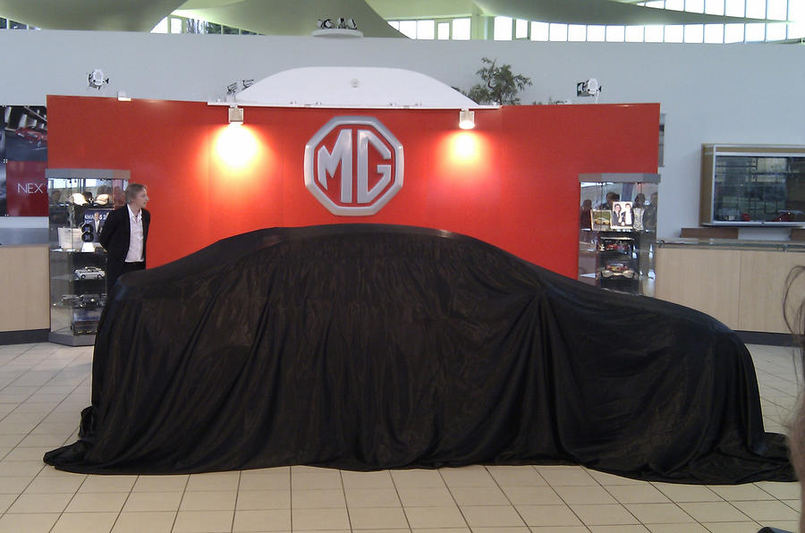 MG6 saloon revealed