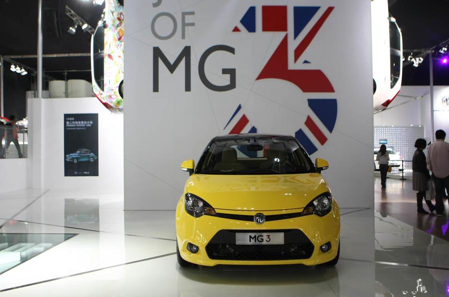 Shanghai motor show: MG3