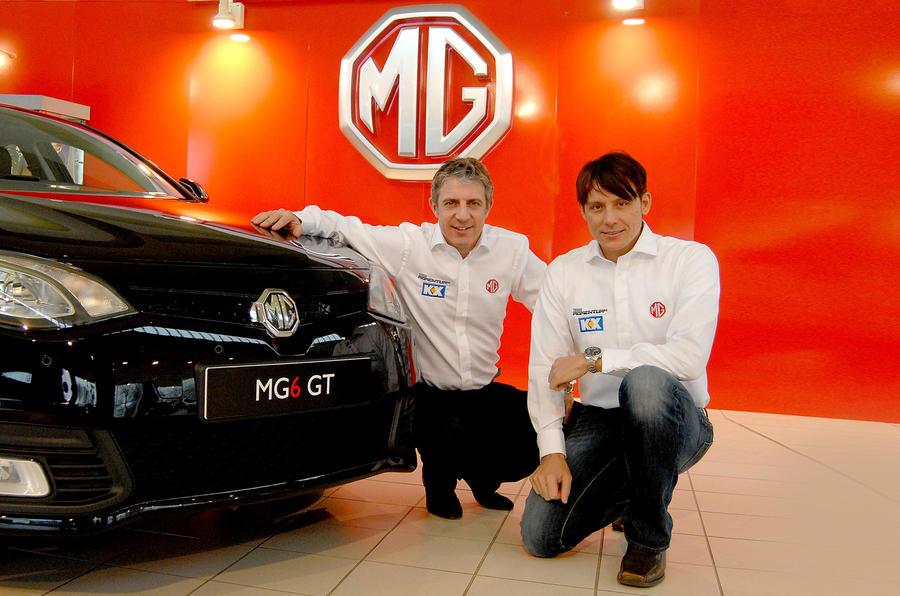 Jason Plato to race MG 6 in BTCC