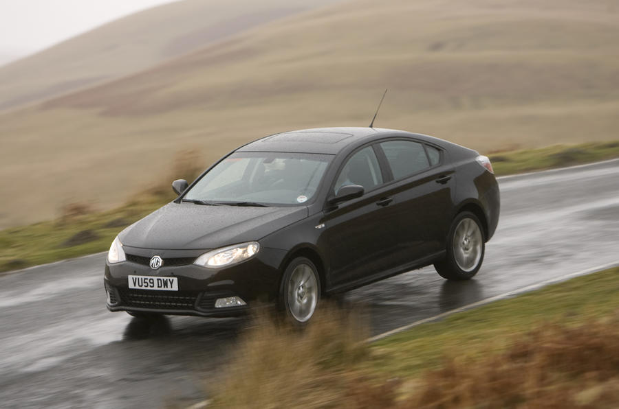 MG6 first drive - exclusive