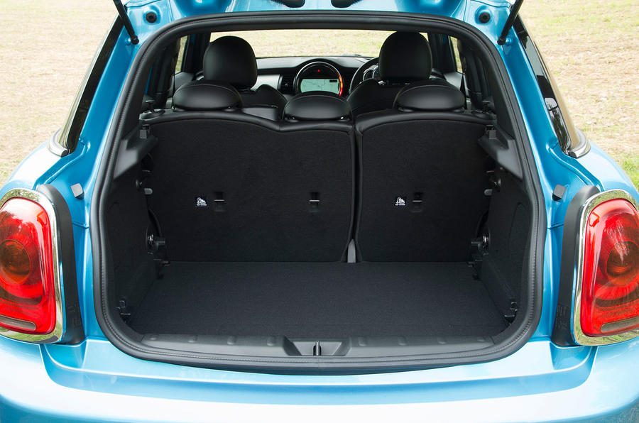 Mini Cooper SD boot space