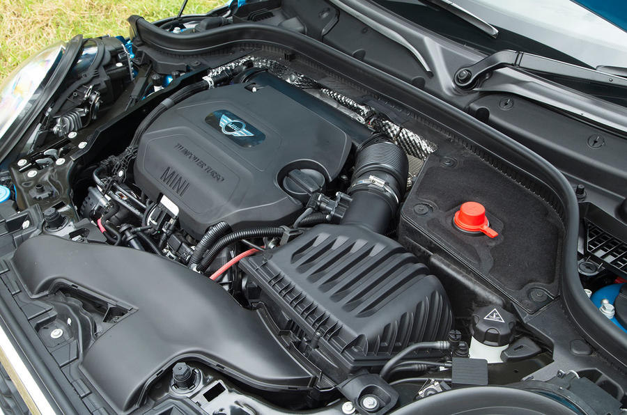 2.0-litre Mini Cooper SD diesel engine