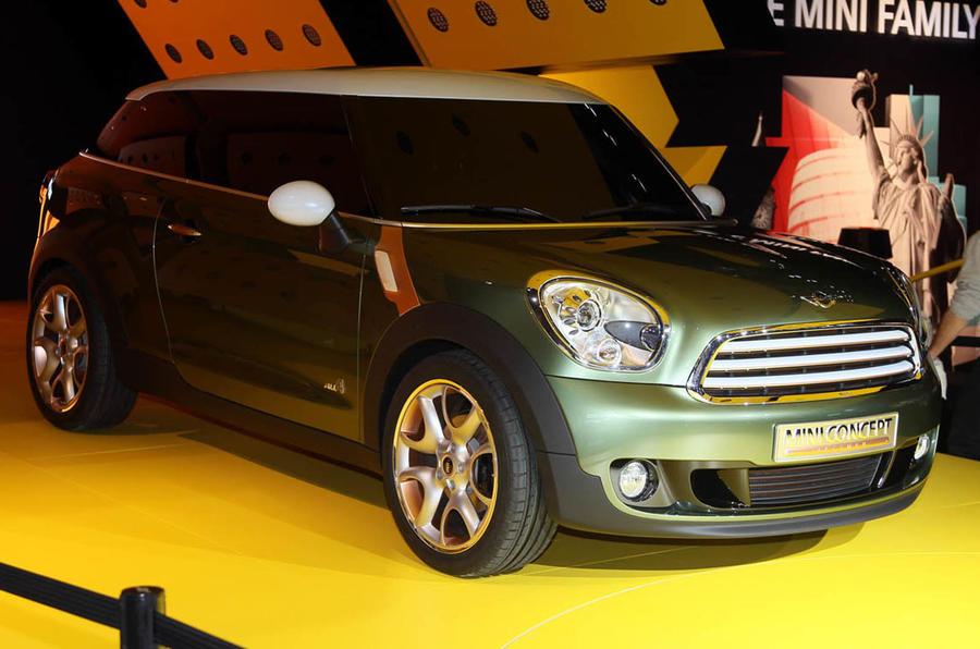 Detroit motor show: Mini Paceman