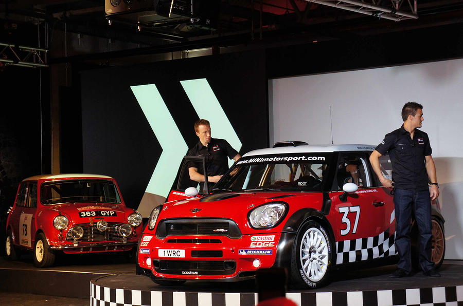 Mini's WRC car - now with video