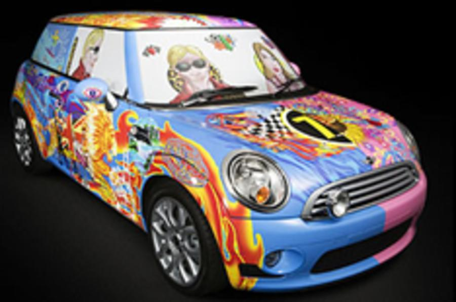 Mini goes psychedelic