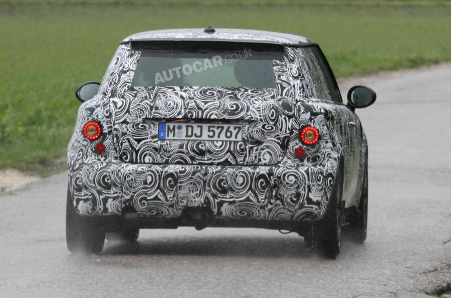 All-new Mini starts testing