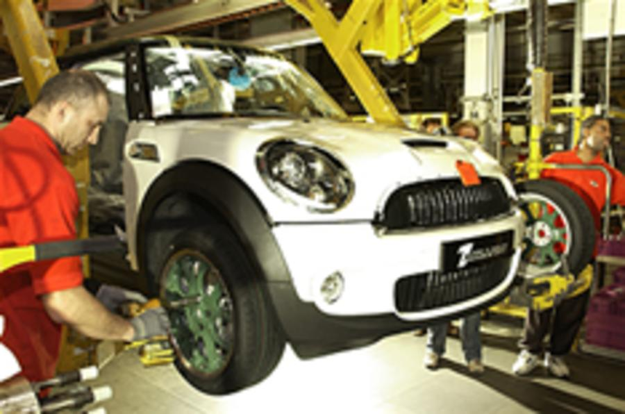 UK car production halves
