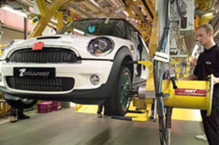 BMW slashes 850 Mini jobs