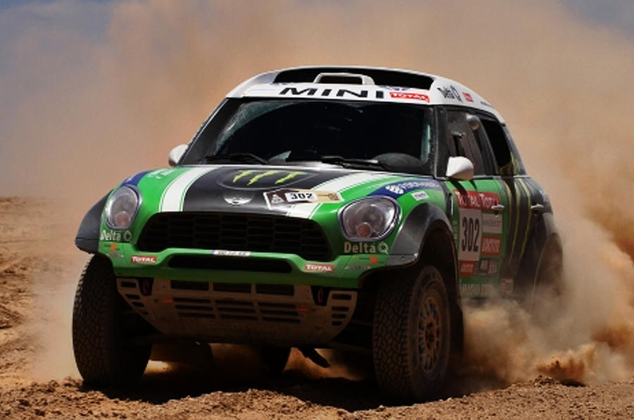 Modified Countryman wins Dakar