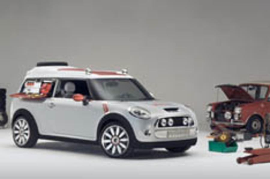 Travelling further: MINI at Geneva