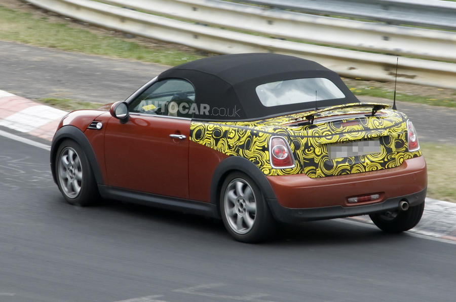 Mini Roadster here in 2012