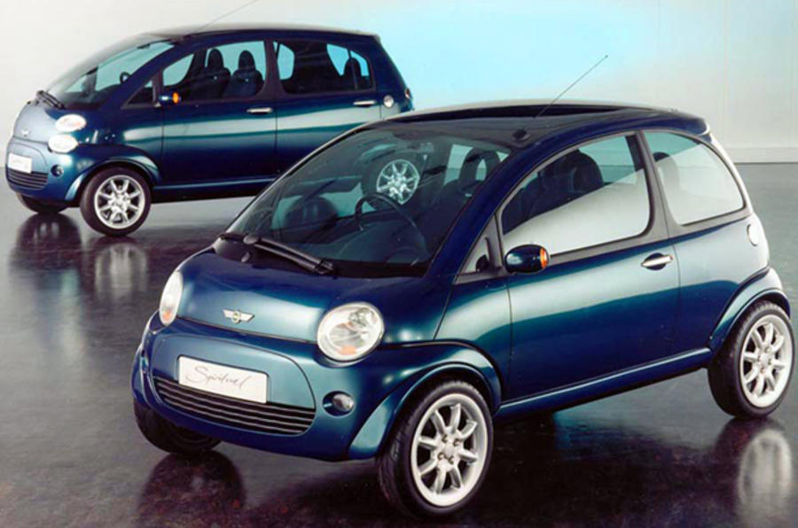 Mini plans new city car concept