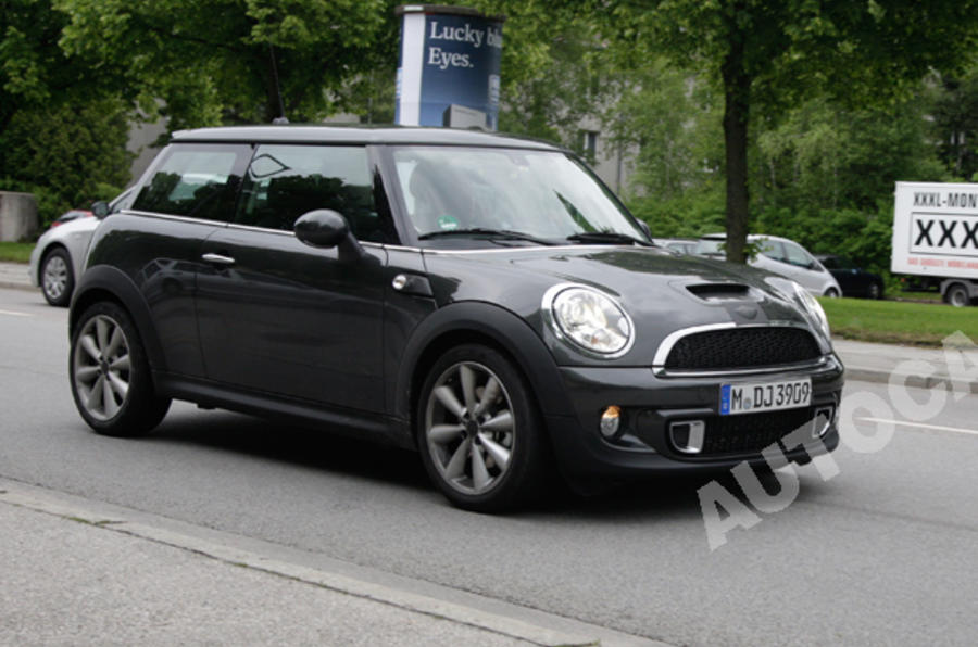 Revised Mini spied undisguised