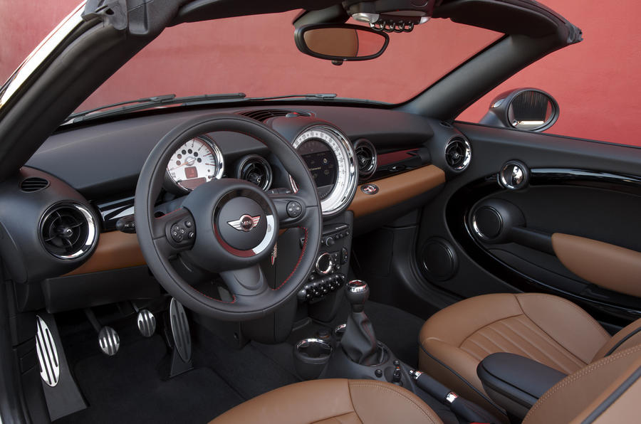 Detroit motor show: Mini Roadster