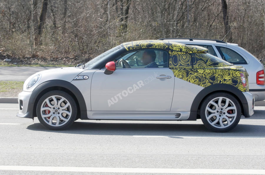 New Mini Coupe scooped