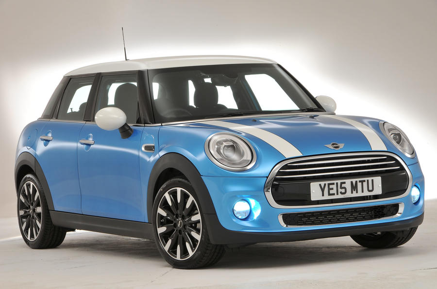 4 star Mini Cooper 5-door hatch
