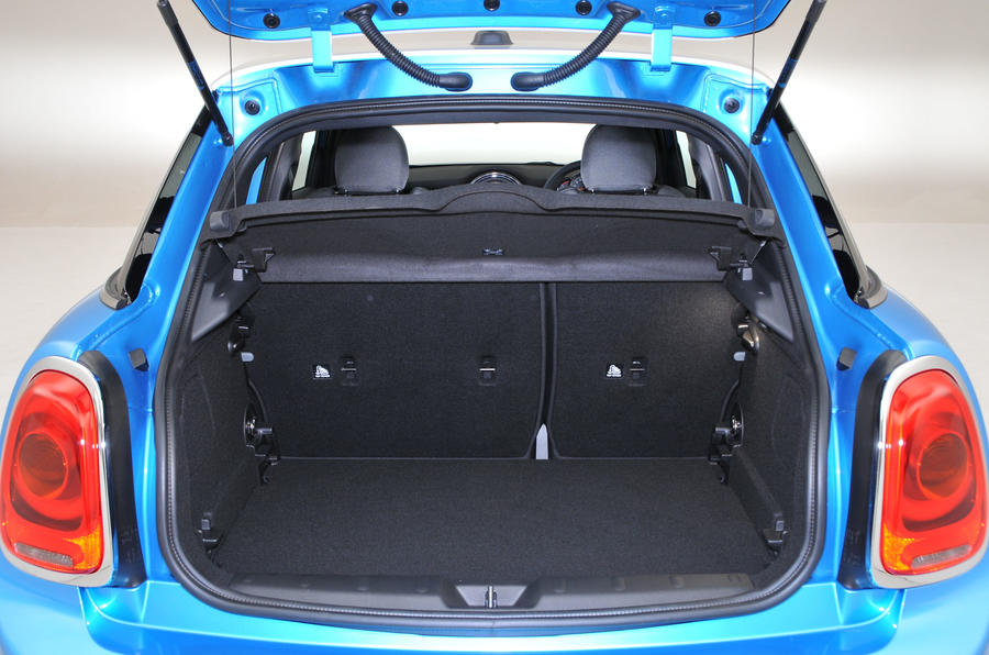 Mini Cooper boot space