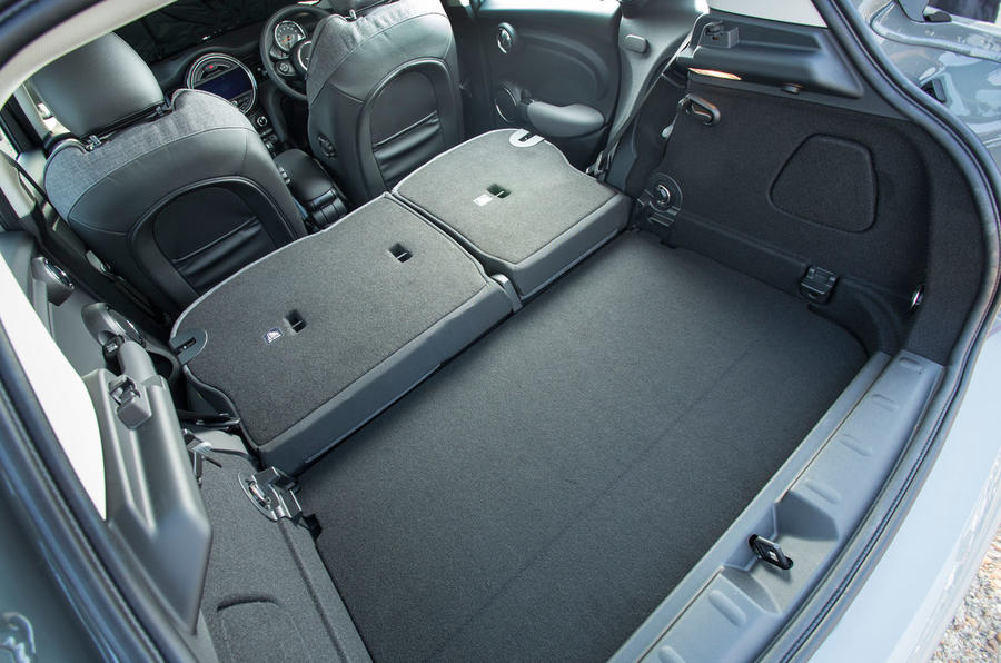 Mini Cooper D extended boot space
