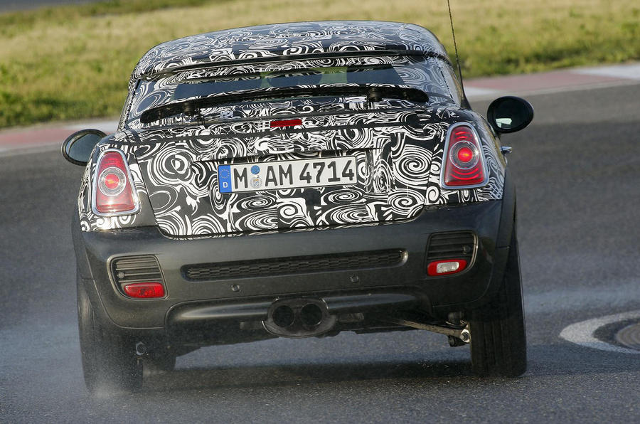 Mini reveals Coupé line-up