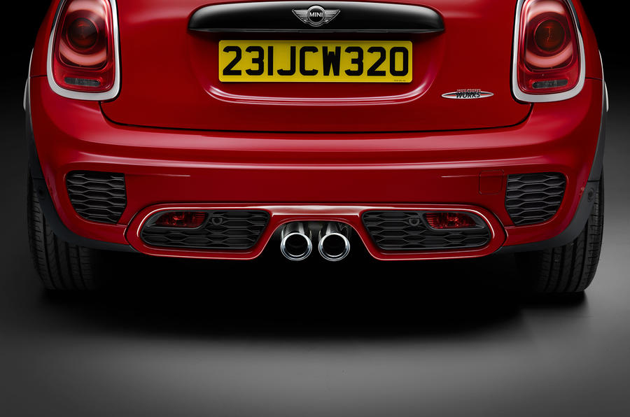 New Mini Cooper S John Cooper Works unveiled