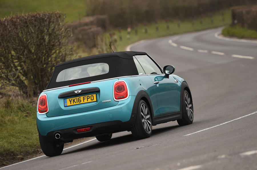Mini Convertible rear