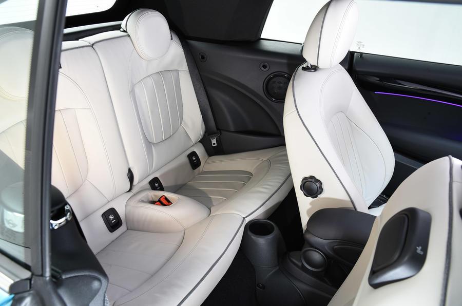 Mini Convertible rear seats