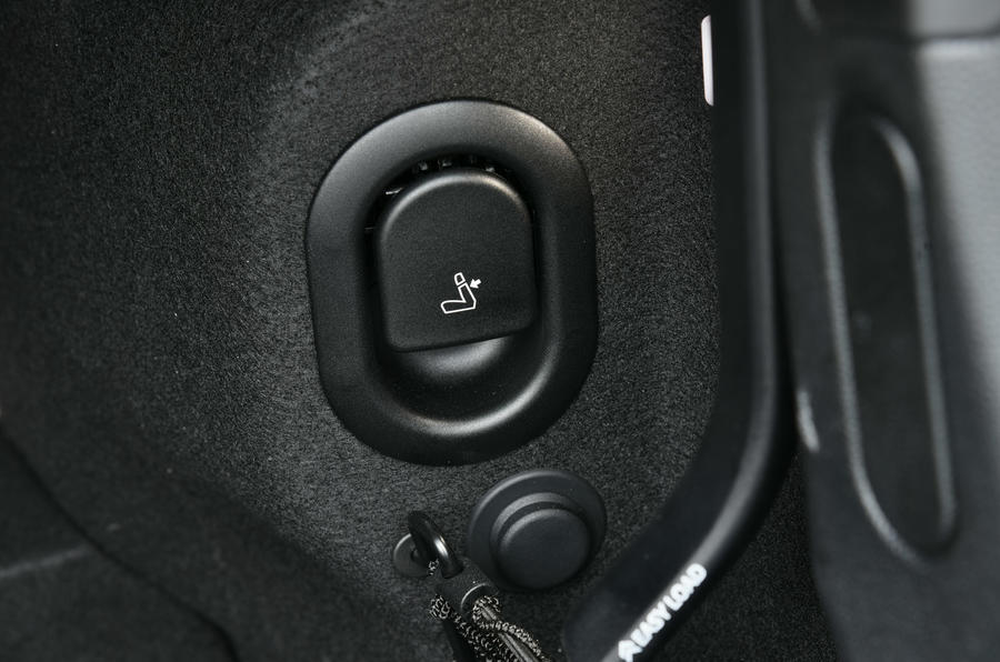 Mini Convertible seat switch